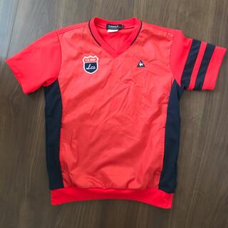 ルコックスポルティフ(le coq sportif)のLサイズ 赤×紺(ウエア)