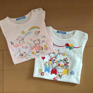 familiar - ファミリア Tシャツ 100㎝ 2枚セット