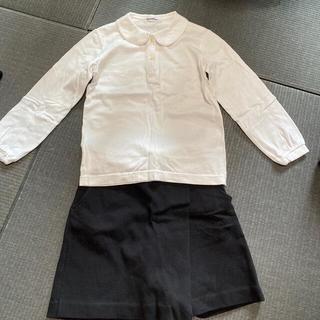 ファミリア(familiar)のファミリア お受験 行動観察 説明会など 女の子 ポロシャツ キュロット 120(ドレス/フォーマル)