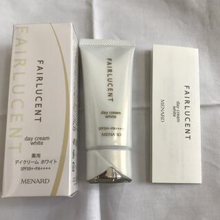 メナード(MENARD)のメナード  フェアルーセント薬用ティクリームホワイトD新品未使用品(日焼け止め/サンオイル)