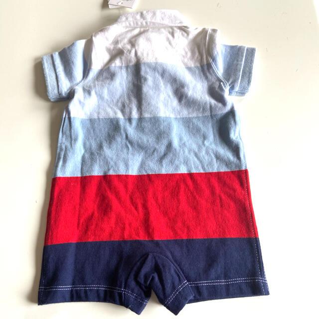 Ralph Lauren(ラルフローレン)のラルフローレン ベビー 半袖ロンパース サイズ60 キッズ/ベビー/マタニティのベビー服(~85cm)(ロンパース)の商品写真