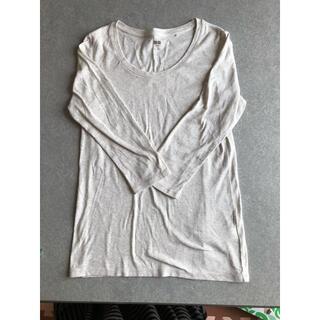 ユニクロ(UNIQLO)のスーピマコットン カットソー 七分袖(Tシャツ(長袖/七分))