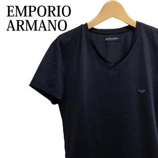 エンポリオアルマーニ(Emporio Armani)のEMPORIO ARMANI 半袖Tシャツ 半袖カットソー シンプル 高級感(Tシャツ/カットソー(半袖/袖なし))