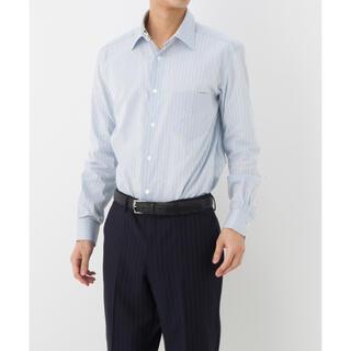 Paul Smith - ポールスミス SATIN STRIPE 花柄 フローラル ドレスシャツ ブルー