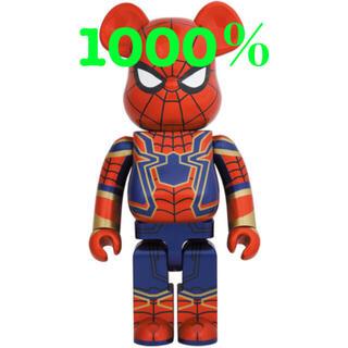 MEDICOM TOY - MEDICOM TOY BE@RBRICK IRON SPIDER 1000%