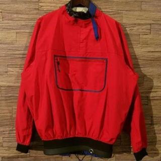 パタゴニア(patagonia)のパタゴニア カヤック パドリング ナイロンジャケット 赤 XL(ブルゾン)