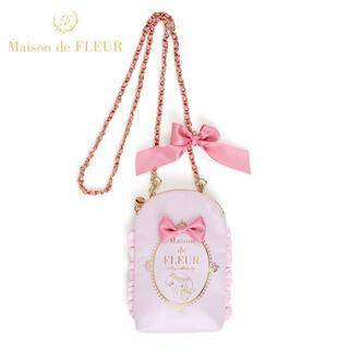 Maison de FLEUR - メゾンドフルール マイメロ サンリオモバイルショルダーバッグ ピンク