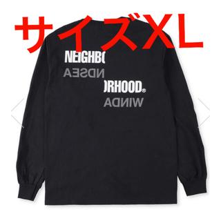 ネイバーフッド(NEIGHBORHOOD)のWIND AND SEA×NEIGHBORHOODネイバーフッド ロンT黒XL(Tシャツ/カットソー(七分/長袖))