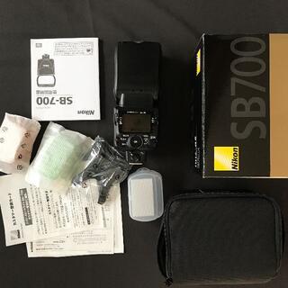 Nikon - Nikon SB-700 付属品完備 未使用に近い