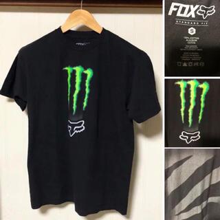 アートヴィンテージ(ART VINTAGE)のFox Racing × Monster Energy モンスター Tシャツ(Tシャツ/カットソー(半袖/袖なし))