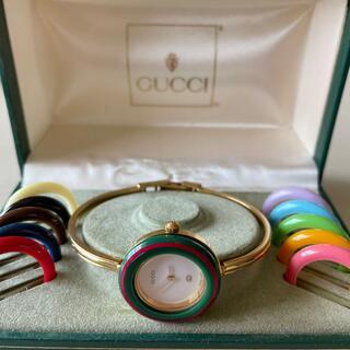 Gucci - GUCCI  腕時計 チェンジリング
