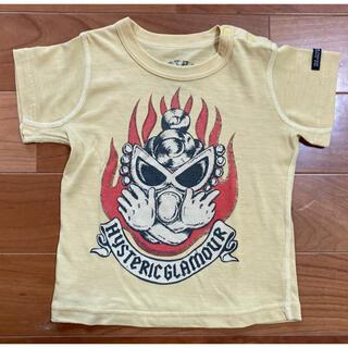 ヒステリックグラマー(HYSTERIC GLAMOUR)のヒステリックグラマー ヒスミニ 90cm 半袖Tシャツ ベビー クールマックス(Tシャツ/カットソー)