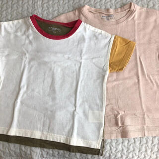 ムジルシリョウヒン(MUJI (無印良品))のオーガニックコットン Tシャツ 2枚セット(Tシャツ/カットソー)