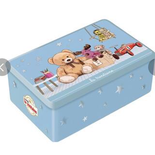 ラ・トリニテーヌ 新商品◇ベビーシャワー ブルー缶 (ガレット/パレット詰合せ)(菓子/デザート)