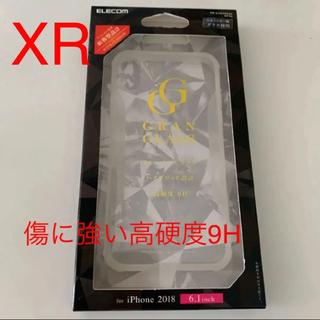 ELECOM - ELECOM 新品 iPhone XR ガラス ハイブリッド ケース