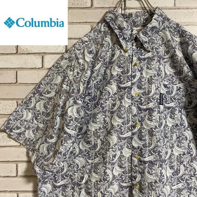 Columbia(コロンビア)の90s 古着 コロンビア アロハシャツ 柄シャツ ビッグシルエット ゆるだぼ メンズのトップス(シャツ)の商品写真
