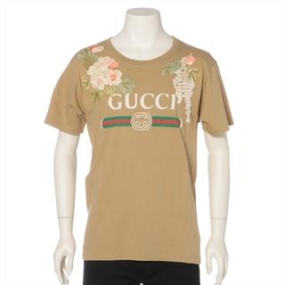 Gucci - グッチ  コットン S ベージュ メンズ その他トップス