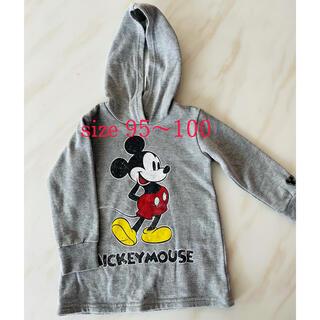 ディズニー(Disney)のミッキーパーカー 子供服 95〜100(ジャケット/上着)