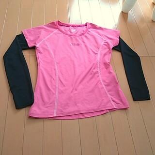 キットソン(KITSON)のkitson LA  半袖・長袖Tシャツ 2枚セット M☆UV、日焼け対策(ウェア)