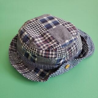 ニシマツヤ(西松屋)の男の子 帽子 48cm(帽子)