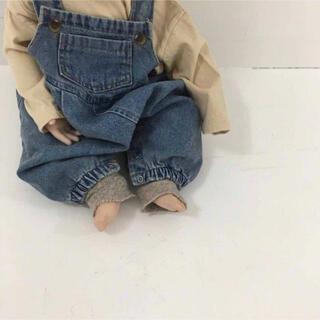 オーバーオール サロペット 韓国子供服 ベビー 80サイズ(ロンパース)