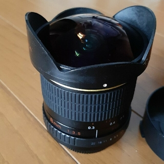 ニコン(Nikon)の魚眼レンズ 8mm(レンズ(単焦点))