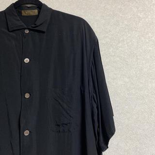 Yohji Yamamoto - 希少 ヨウジヤマモト ワイズフォーメン 黒 シャツ