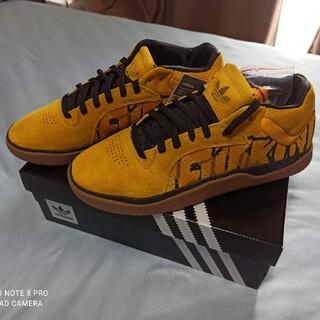 アディダス(adidas)のアディダス TYSHAWN X FA  FX0865(スニーカー)