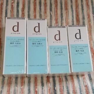 d program - dプログラム バランスケア化粧水&乳液 しっとりレフィル4点