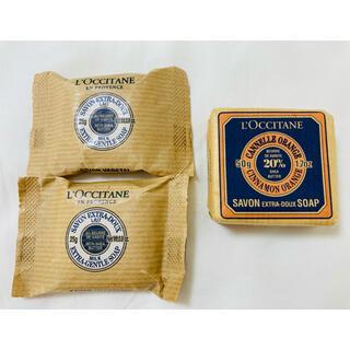 ロクシタン(L'OCCITANE)の(新品)ロクシタン ソープ3つセット(ボディソープ/石鹸)