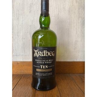 モエエシャンドン(MOËT & CHANDON)のアードベッグ10年 46度 【オールドボトル1000ml】(ウイスキー)