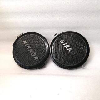 ニコン(Nikon)のニコン日本光学NIKKOR名レンズキャップ52mmピン式とクリップオン式(レンズ(単焦点))