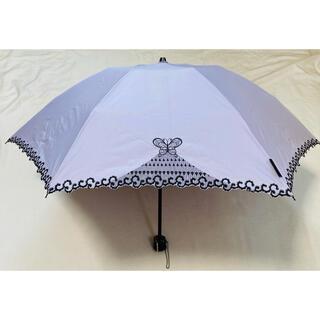 ANNA SUI - アナスイANNASUI蝶モチーフ折りたたみ日傘 バタフライ傘UV晴れ雨兼用傘