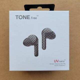 エルジーエレクトロニクス(LG Electronics)のLG TONE Free ワイヤレスイヤホン(ヘッドフォン/イヤフォン)