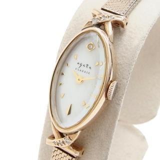 アガット 腕時計 クラシック  1507