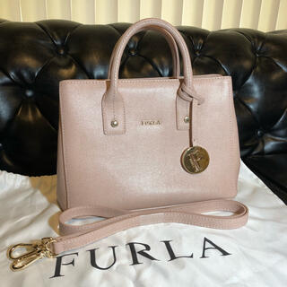 Furla - 最終値下げ Furla リンダ レディース レザー ハンドバッグ 保存袋付き