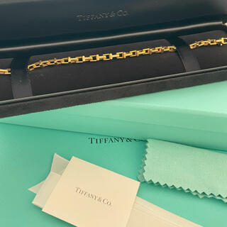 ティファニー(Tiffany & Co.)のTiffany ティファニー K18YG ナローチェーンブレスレット(ブレスレット/バングル)