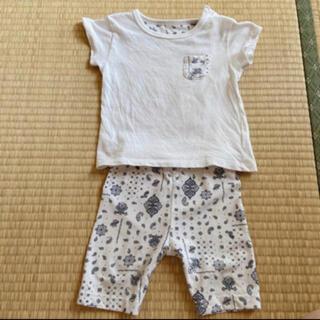 ユニクロ(UNIQLO)のUNIQLO セットアップ(Tシャツ)