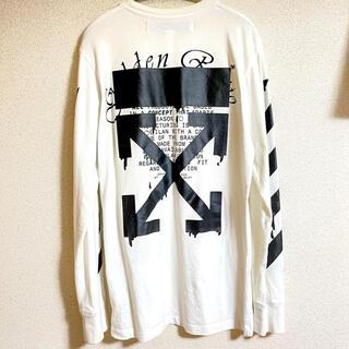オフホワイト(OFF-WHITE)のOFF-WHITE トップス ロンT Tシャツ(Tシャツ/カットソー(七分/長袖))