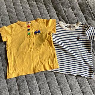 ミキハウス(mikihouse)の80 Tシャツ 2枚(Tシャツ)