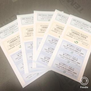 ジェイアール(JR)の jreモール 500円クーポン5枚分等(その他)