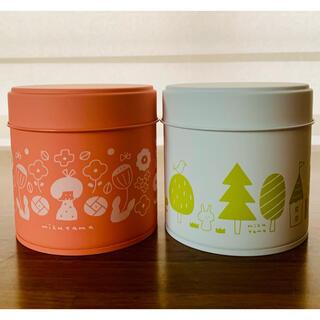 mizutama 白桃紅茶 シャインマスカットティー 缶(茶)