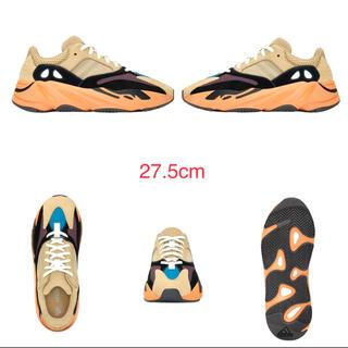 アディダス(adidas)のアディダス イージー ブースト 700 エンフレイム アンバー 27.5(スニーカー)