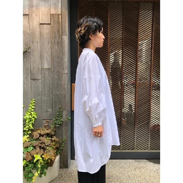 ENFOLD(エンフォルド)の新品 ENFOLD エンフォルド SOMELOS Aライン チュニックシャツ レディースのトップス(シャツ/ブラウス(長袖/七分))の商品写真