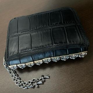 Chrome Hearts - Chrome Hearts 3SIDE ZIP Wallet alligator