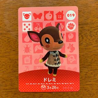 Nintendo Switch - amiiboカード  ドレミ あつまれどうぶつの森