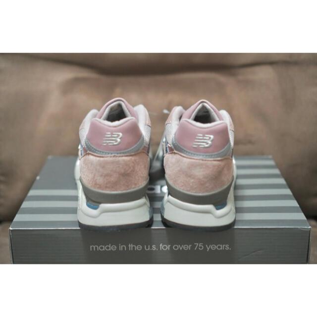 New Balance(ニューバランス)のKITH限定 26.5cm New Balance 998 Dusty Rose メンズの靴/シューズ(スニーカー)の商品写真