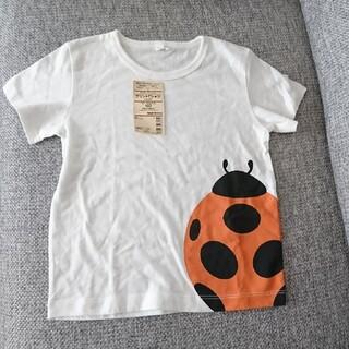 ムジルシリョウヒン(MUJI (無印良品))の無印良品 プリントTシャツ 100㎝(Tシャツ/カットソー)