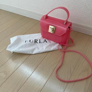 Furla - FURLA フルラ ビニール ショルダーバッグ ピンク