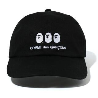 アベイシングエイプ(A BATHING APE)のAPE X COMME des GARCONS PANEL CAP(キャップ)